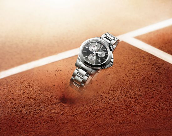 Longines Conquest Roland Garros Watch 1