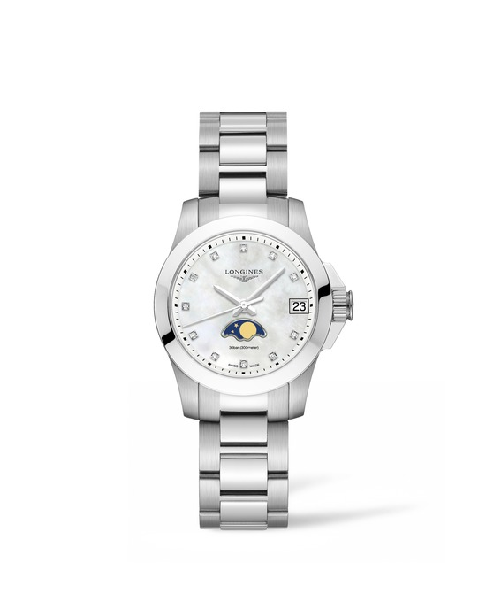 Longines Conquest Moonphase Ladies Watch 4