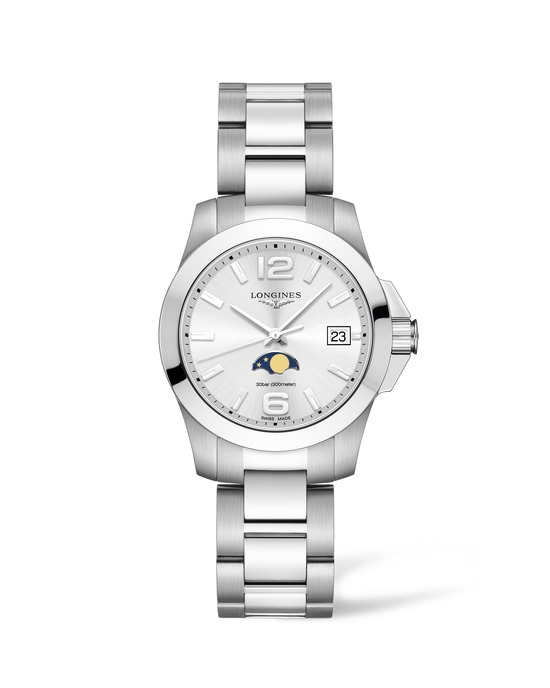 Longines Conquest Moonphase Ladies Watch 2