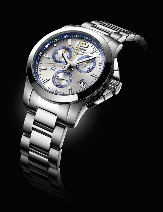 Longines Conquest 1/100th St. Moritz Watch 3