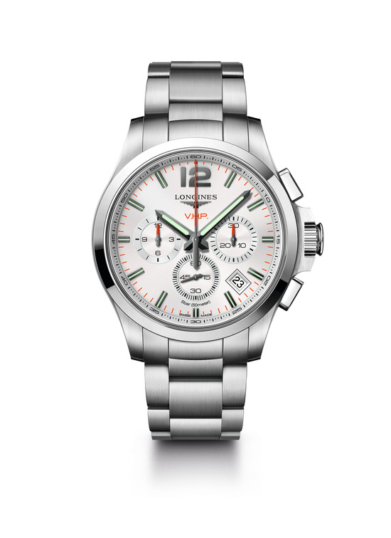 Longines Conquest V.H.P. Chronograph Watch 6
