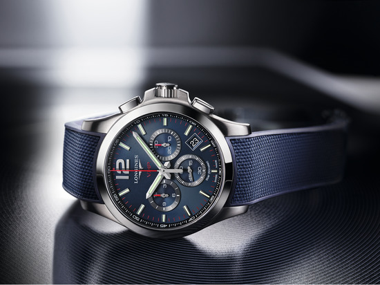 Longines Conquest V.H.P. Chronograph Watch 2