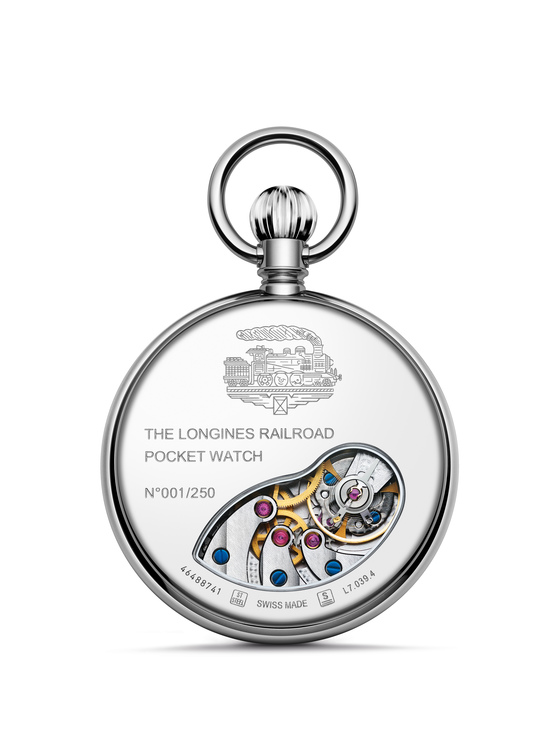 Longines The Longines RailRoad Pocket Watch Watch 2