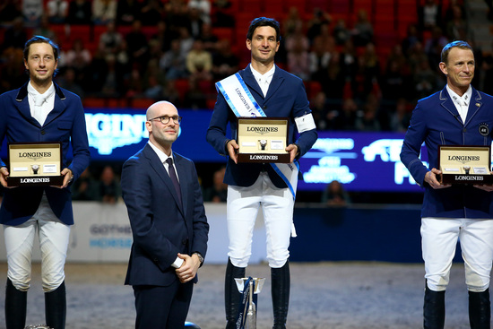Longines Show Jumping Event: Steve Guerdat and Alamo took brilliant victory at the 2019 Longines FEI Jumping World CupTM Final 5