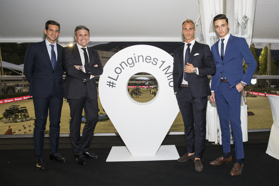 Longines Show Jumping Event: Longines is delighted to have celebrated its 1'000'000 Instagram followers at the Longines FEI Jumping Nations Cup™ Final 4
