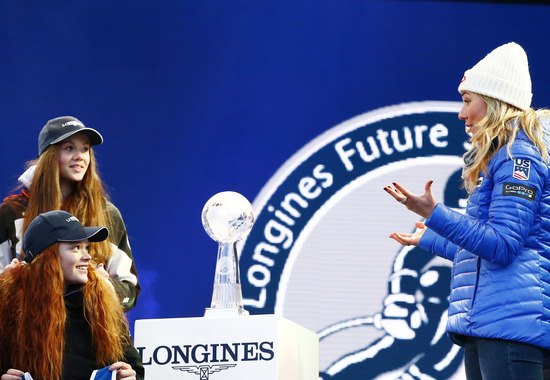 Longines Alpine Skiing Event: LONGINES FUTURE SKI CHAMPIONS - THE BEST YOUNG FEMALE SKIERS 20