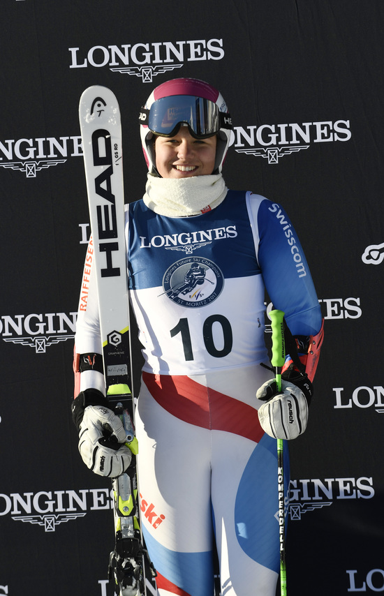 Longines Alpine Skiing Event: LONGINES FUTURE SKI CHAMPIONS - THE BEST YOUNG FEMALE SKIERS 25