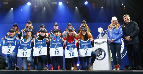 Longines Alpine Skiing Event: LONGINES FUTURE SKI CHAMPIONS - THE BEST YOUNG FEMALE SKIERS 26