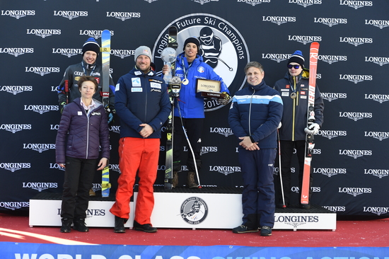 Longines Alpine Skiing Event: Longines Future Ski Champions : The best international young skiers faced off during the FIS Alpine World Cup Finals   7