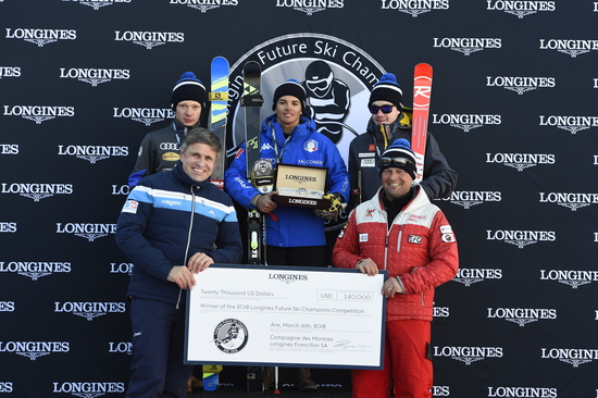 Longines Alpine Skiing Event: Longines Future Ski Champions : The best international young skiers faced off during the FIS Alpine World Cup Finals   22