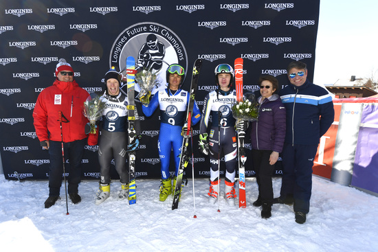 Longines Alpine Skiing Event: Longines Future Ski Champions : The best international young skiers faced off during the FIS Alpine World Cup Finals   9
