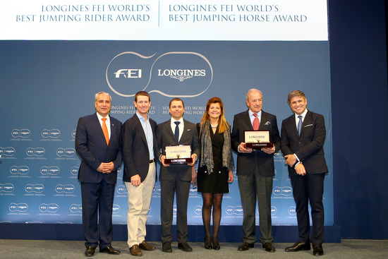 Longines Show Jumping Event: Kent Farrington and HH Azur honored as the 2017 Longines FEI World's Best Jumping Rider & Horse  3