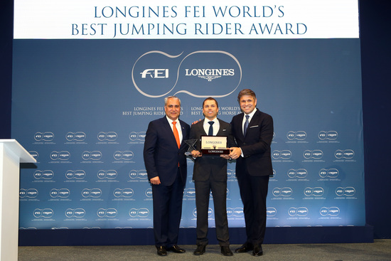 Longines Show Jumping Event: Kent Farrington and HH Azur honored as the 2017 Longines FEI World's Best Jumping Rider & Horse  4