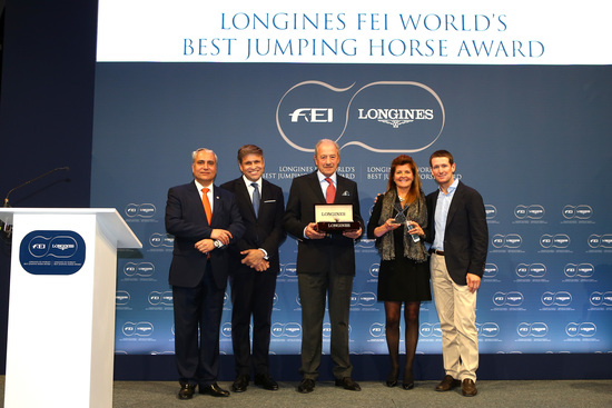 Longines Show Jumping Event: Kent Farrington and HH Azur honored as the 2017 Longines FEI World's Best Jumping Rider & Horse  1