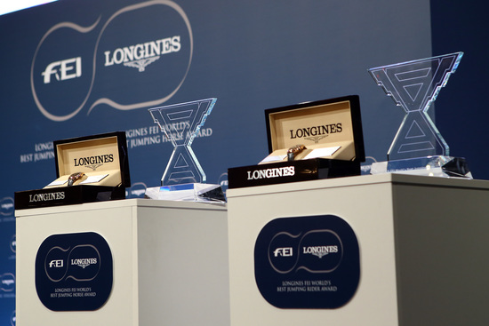 Longines Show Jumping Event: Kent Farrington and HH Azur honored as the 2017 Longines FEI World's Best Jumping Rider & Horse  2