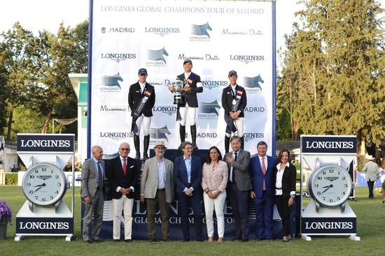 Longines Show Jumping Event: The Spanish leg of the 2017 Longines Global Champions Tour was won by Kent Farrington 1