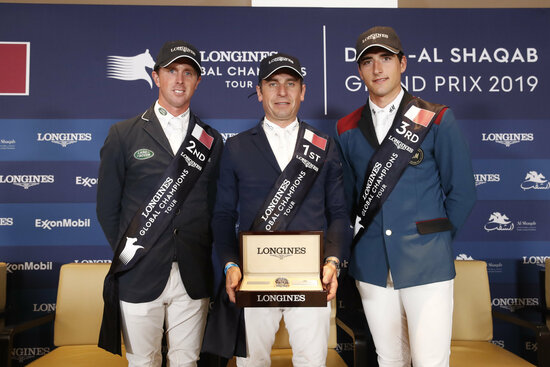 Longines Show Jumping Event: Launch of the brand new season of the Longines Global Champions Tour in Doha 1