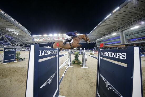 Longines Show Jumping Event: Doha hosted the world's best riders and horses for the launch of the new Longines Global Champions Tour season 2