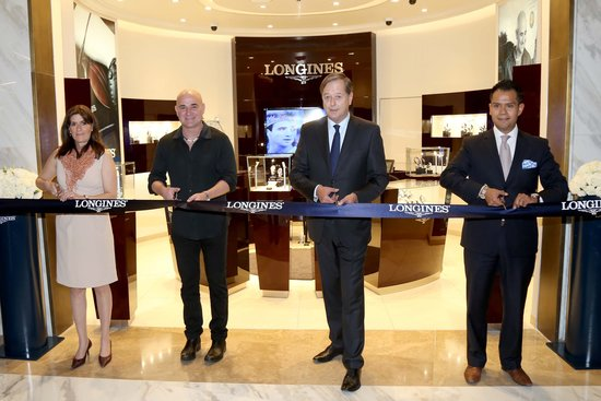 Longines Show Jumping Event: Andre Agassi attended the first leg of the 2017 Longines Global Champions Tour in Mexico City 4