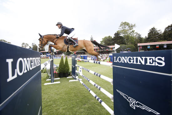 Longines Show Jumping Event: Andre Agassi attended the first leg of the 2017 Longines Global Champions Tour in Mexico City 2