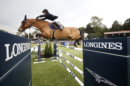 Longines Show Jumping Event: Andre Agassi attended the first leg of the 2017 Longines Global Champions Tour in Mexico City 1