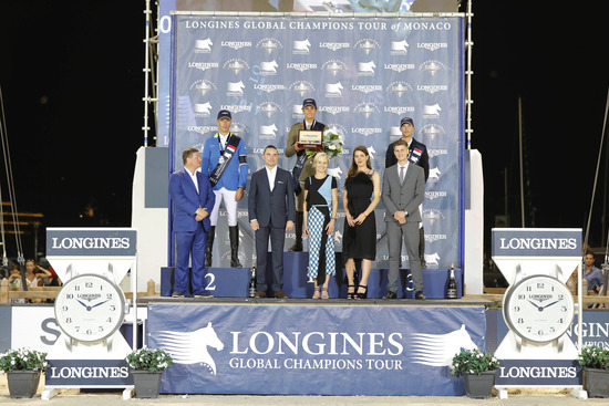 Longines Show Jumping Event: The riders of the Longines Global Champions Tour competed in the magnificent Monaco harbour 5