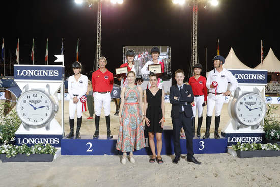 Longines Show Jumping Event: The riders of the Longines Global Champions Tour competed in the magnificent Monaco harbour 7