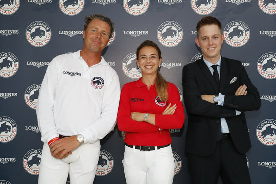 Longines Show Jumping Event: The riders of the Longines Global Champions Tour competed in the magnificent Monaco harbour 3