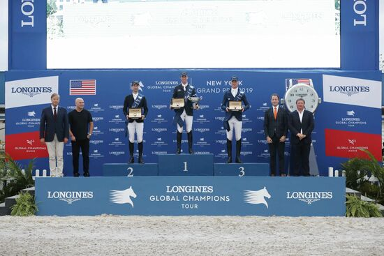 Longines Equestrian Event: Sensational Final of the 2019 LGCT for its first debut in New York with Ben Maher shining in the Longines Global Champions Tour Grand Prix of New York 4