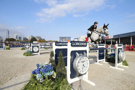 Longines Equestrian Event: Sensational Final of the 2019 LGCT for its first debut in New York with Ben Maher shining in the Longines Global Champions Tour Grand Prix of New York 2
