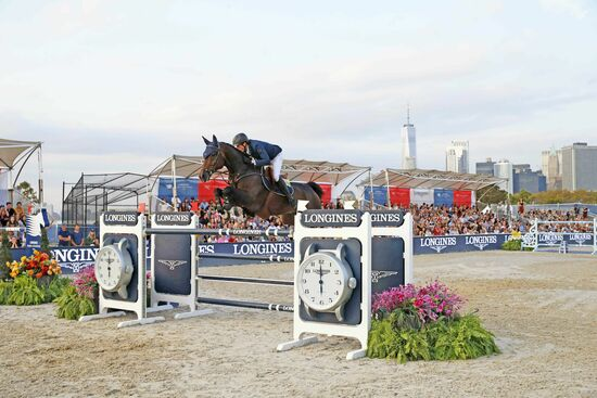 Longines Equestrian Event: Sensational Final of the 2019 LGCT for its first debut in New York with Ben Maher shining in the Longines Global Champions Tour Grand Prix of New York 1