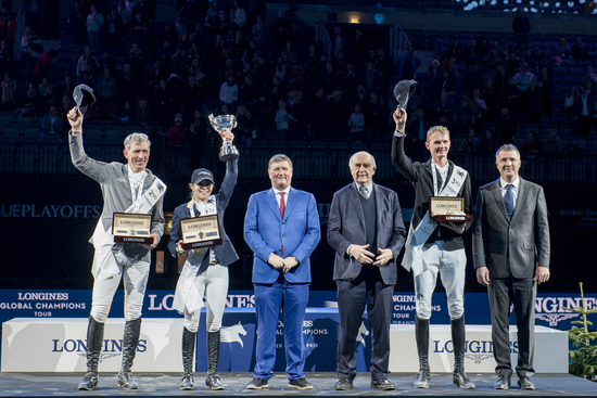 Longines Show Jumping Event: Fantastic victory of Edwina Tops-Alexander who becomes the Champion of the Longines Global Champions Tour Super Grand Prix 2