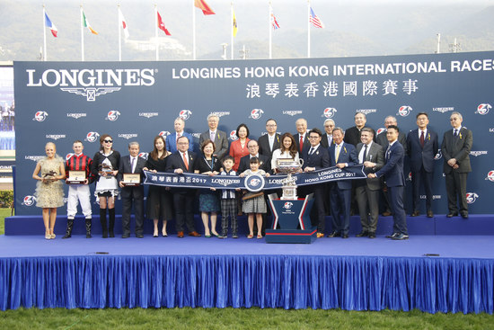 Longines Flat Racing Event: Longines welcomes its Ambassador of Elegance Eddie Peng at the 2017 Longines Hong Kong International Races 10
