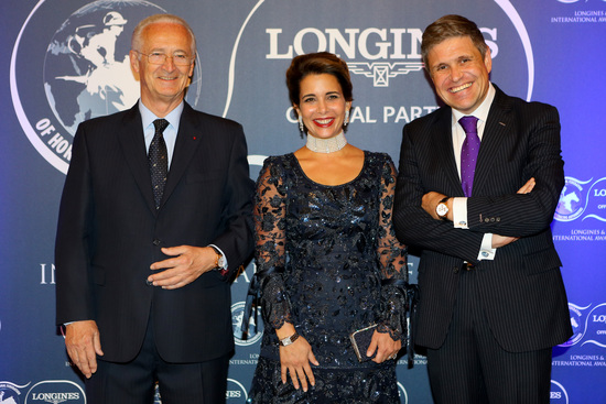Longines Corporate Event: 2016 Longines and International Federation of Horseracing Authorities (IFHA) International Award of Merit goes to the Romanet Family, long renowned leaders in French and international world of horseracing 2