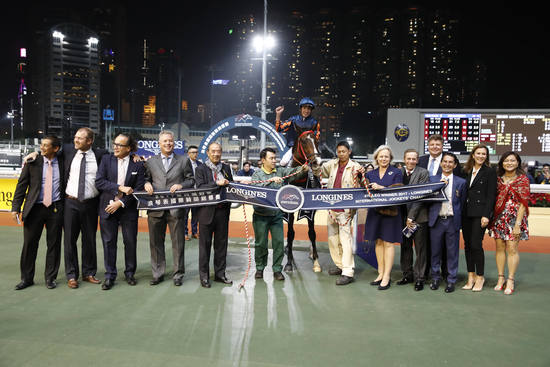 Longines Flat Racing Event:  The Longines International Jockeys' Championship: a celebration of the world's best jockeys  2