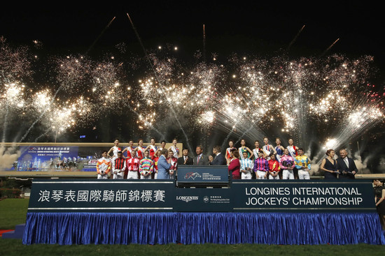 Longines Flat Racing Event:  The Longines International Jockeys' Championship: a celebration of the world's best jockeys  6