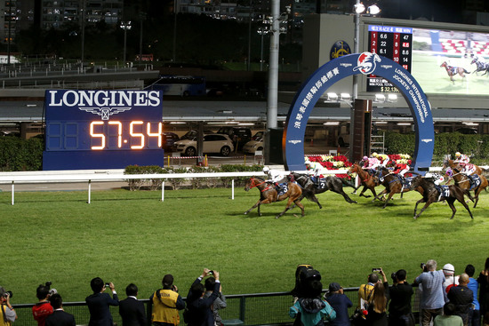 Longines Flat Racing Event: Silvestre de Sousa emerges victorious in the Longines International Jockeys' Championship in Hong Kong 2