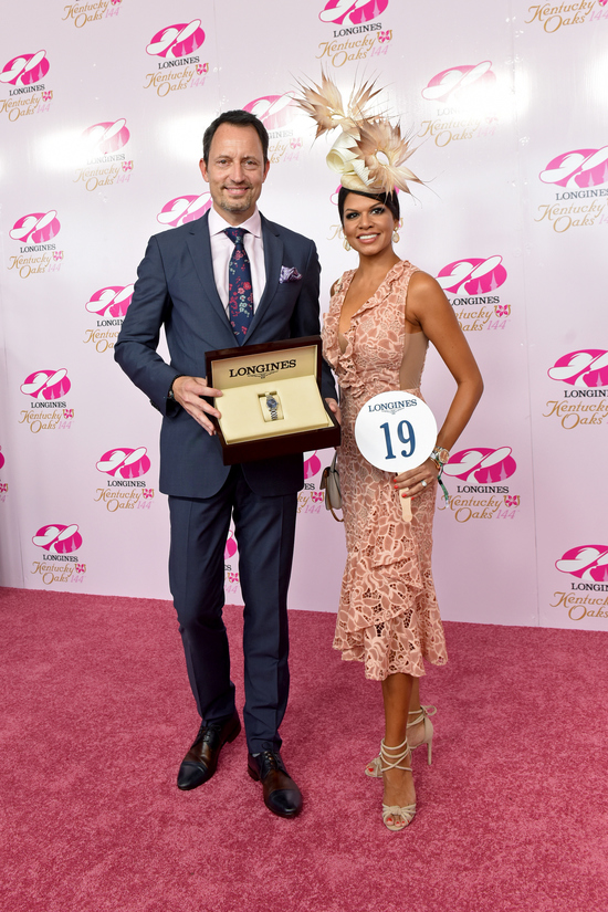 Longines Flat Racing Event: Monomoy Girl's Longines Kentucky Oaks Victory celebrated  at Churchill Downs  5