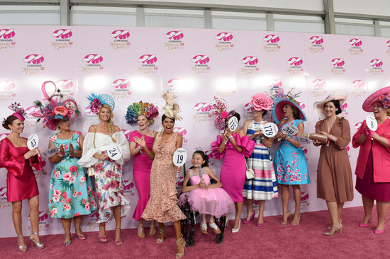Longines Flat Racing Event: Monomoy Girl's Longines Kentucky Oaks Victory celebrated  at Churchill Downs  6