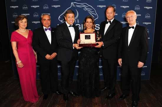 Longines Corporate Event: HRH Princess Haya honoured at the 2015 Longines Ladies Awards ceremony 2