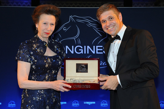 Longines Corporate Event: The Princess Royal honoured with the Longines Ladies Award 2016 5