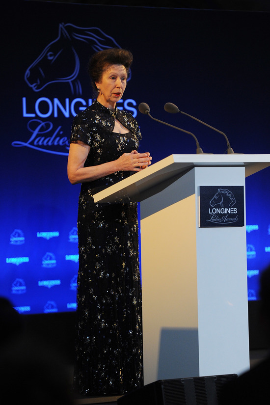 Longines Corporate Event: The Princess Royal honoured with the Longines Ladies Award 2016 2