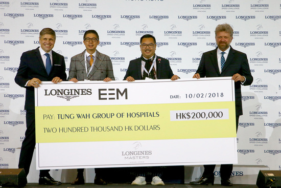 Longines Show Jumping Event: The Longines Masters of Hong Kong: Patrice Delaveau on Aquila HDC takes top class Longines Grand Prix win 12