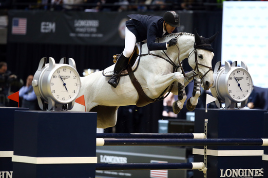 Longines Show Jumping Event: Fantastic McLain Ward takes the first Longines Masters of New York  4