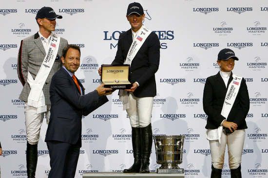 Longines Show Jumping Event: Fantastic McLain Ward takes the first Longines Masters of New York  8