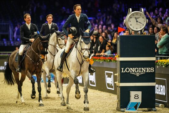 Longines Show Jumping Event: The Longines Masters of Paris: when glamour meets sports performances 1