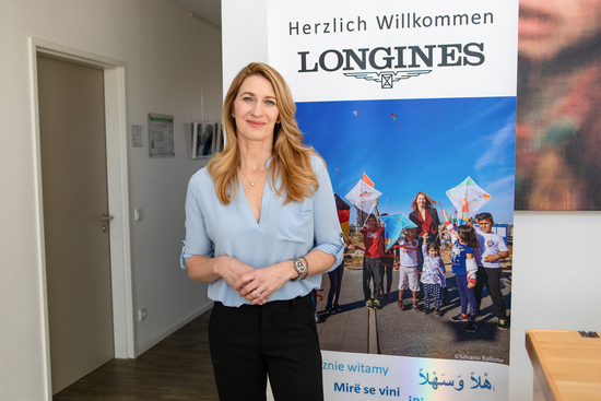 Longines Corporate Event: Longines Ambassador of Elegance Stefanie Graf opens the doors of her foundation in Hamburg 10