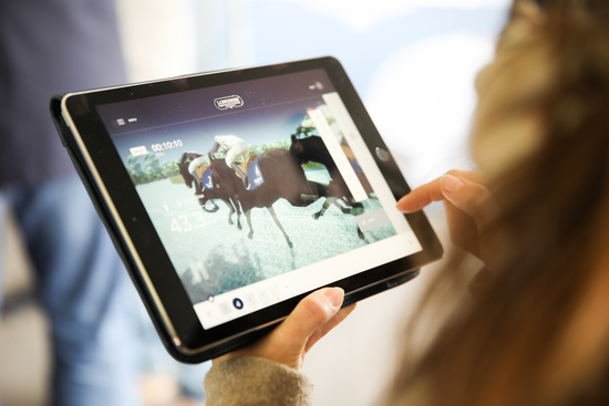 Longines Flat Racing Event: Longines presented its exclusive offer in sports timing services including a brand new application 3