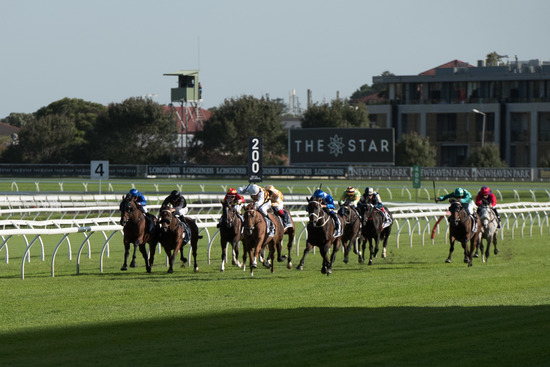 Longines Flat Racing Event: Winx claimed victory at the Longines Queen Elizabeth Stakes 4
