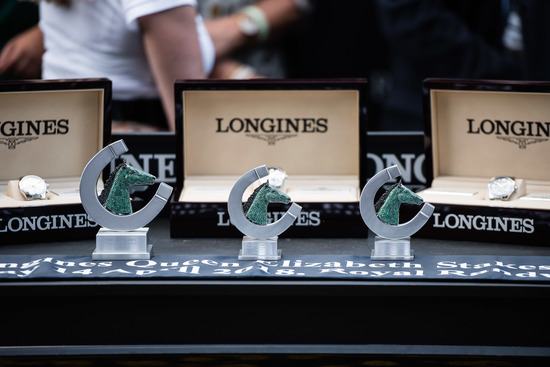 Longines Flat Racing Event: Winx claimed victory at the Longines Queen Elizabeth Stakes 6